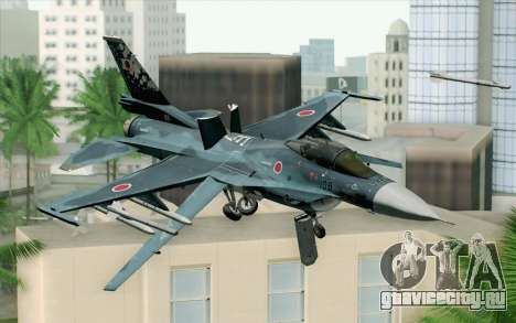 F-2A Viper 60th Anniversary of JASDF для GTA San Andreas