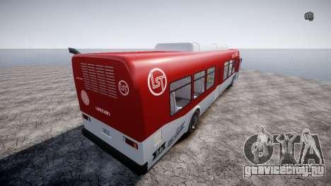 GTA 5 Bus v2 для GTA 4 вид справа