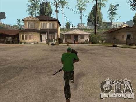КОРД из Поля Брани 3 для GTA San Andreas четвёртый скриншот