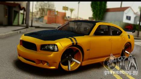Dodge Charger SRT8 2006 Tuning для GTA San Andreas