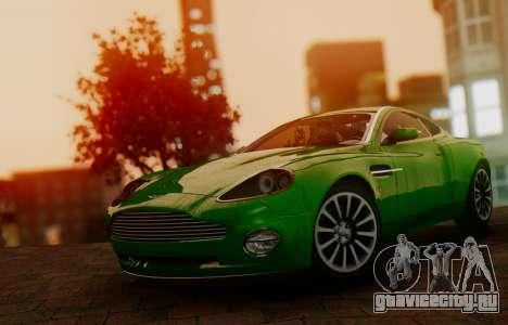 Aston Martin V12 Vanquish 2001 v1.01 для GTA San Andreas