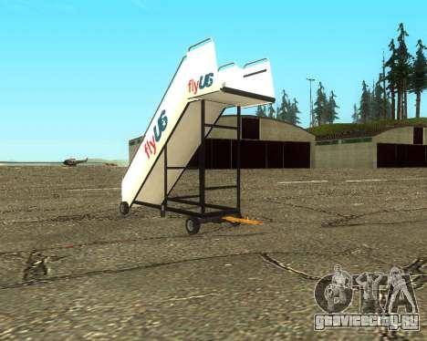 New Tugstair Fly US для GTA San Andreas вид слева