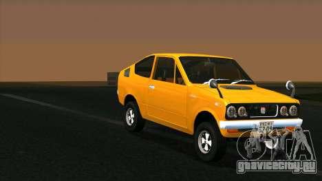 Mitsubishi Minica Skipper для GTA San Andreas вид сзади слева