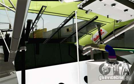 NASCAR Toyota Camry 2013 v4 для GTA San Andreas вид сзади