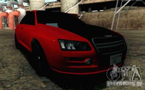 GTA 5 Karin Kuruma v2 для GTA San Andreas