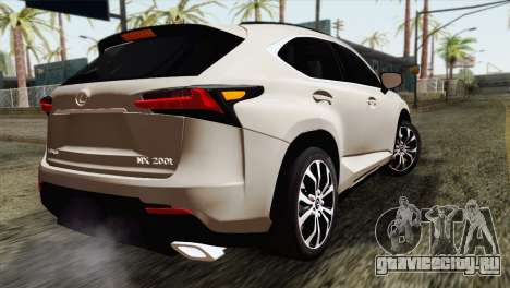 Lexus NX 200T для GTA San Andreas вид слева