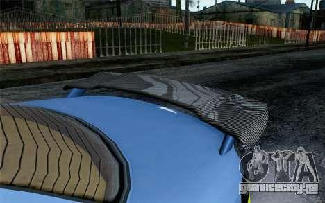 GTA 5 Ubermacht Sentinel XS SA Mobile для GTA San Andreas вид справа