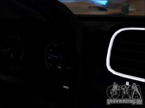 Volkswagen Scirocco Tunable для GTA San Andreas вид снизу