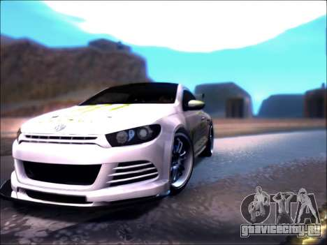 Volkswagen Scirocco Tunable для GTA San Andreas