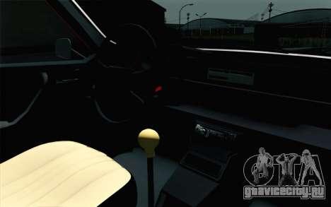 Dacia 1310 TX для GTA San Andreas вид сзади
