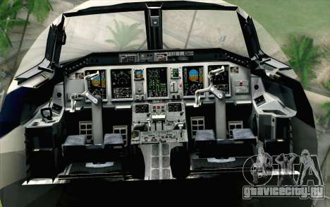 Embraer EMB-175 LOT Polish Airlines для GTA San Andreas вид сзади