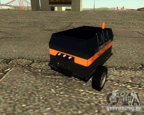 Multi Utility Trailer 3 in 1 для GTA San Andreas вид справа