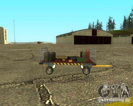 New Bagbox B для GTA San Andreas вид изнутри