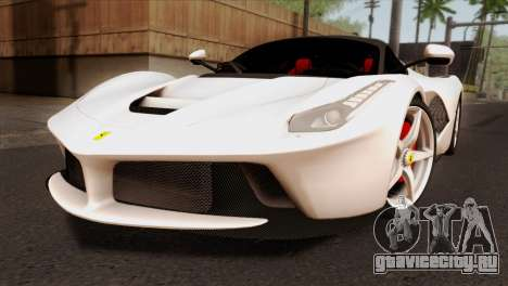 Ferrari LaFerrari 2015 для GTA San Andreas