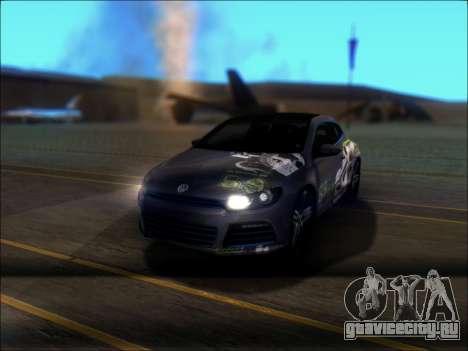 Volkswagen Scirocco Tunable для GTA San Andreas колёса