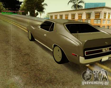 AMC AMX Brutol для GTA San Andreas вид слева