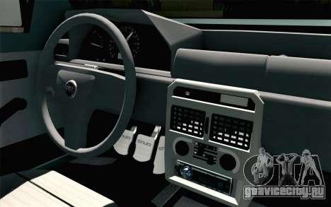 Fiat Uno Fire для GTA San Andreas вид справа