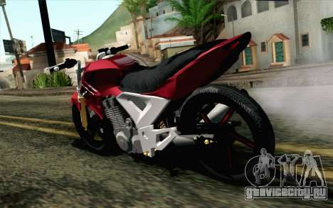 Honda Twister 250 v2 для GTA San Andreas вид слева