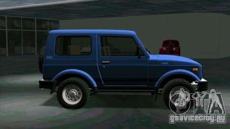 Suzuki Samurai для GTA San Andreas вид слева