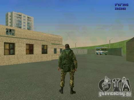 Боец из батальона Спарта для GTA San Andreas