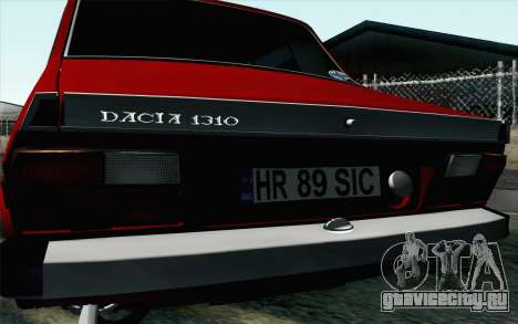 Dacia 1310 TX для GTA San Andreas вид справа