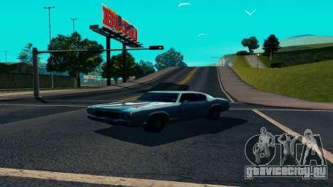 Summers-ENB v9.5 для GTA San Andreas третий скриншот