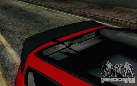Honda CRX для GTA San Andreas вид справа