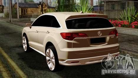 Acura MDX 2009 для GTA San Andreas