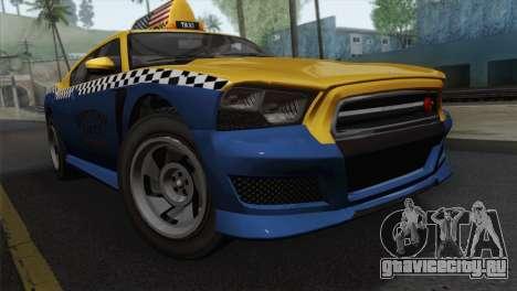 GTA 5 Bravado Buffalo S Downtown Cab Co. для GTA San Andreas