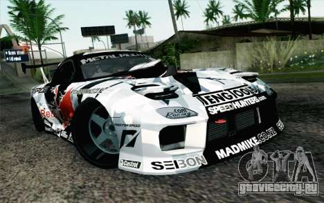 Mazda RX-7 MadMike для GTA San Andreas