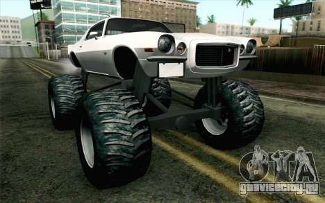 Chevrolet Camaro Z28 Monster Truck для GTA San Andreas