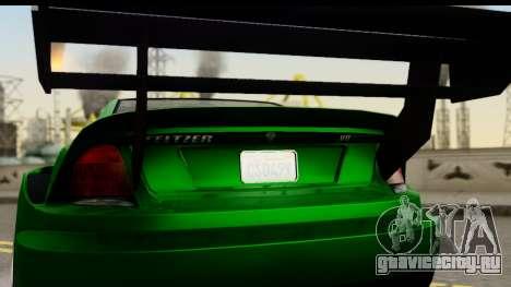 GTA 5 Benefactor Feltzer SA Mobile для GTA San Andreas вид справа