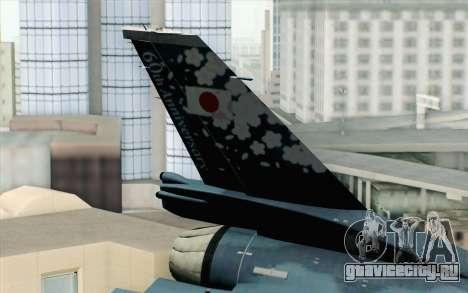 F-2A Viper 60th Anniversary of JASDF для GTA San Andreas вид сзади слева