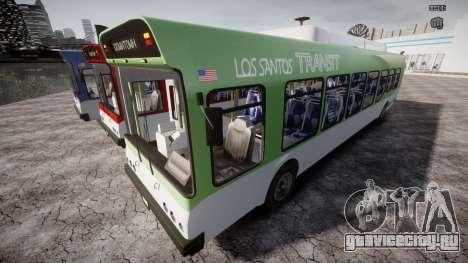 GTA 5 Bus v2 для GTA 4 колёса