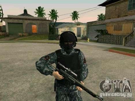 Омоновец для GTA San Andreas второй скриншот