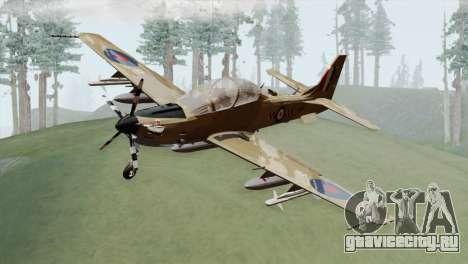 Embraer A-29B Super Tucano RAF Desert для GTA San Andreas