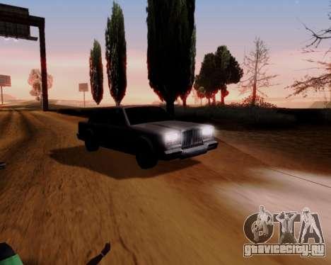 ENB Series for Low PC для GTA San Andreas четвёртый скриншот