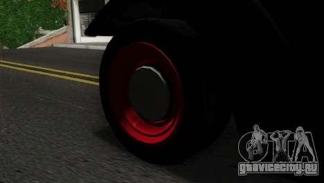 GTA 5 Bravado Rat-Truck SA Mobile для GTA San Andreas вид сзади слева
