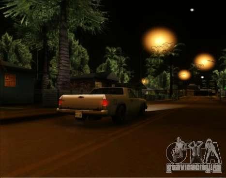 ENB Gentile v2.0 для GTA San Andreas второй скриншот