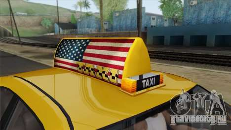 GTA 5 Bravado Buffalo S Downtown Cab Co. для GTA San Andreas вид справа
