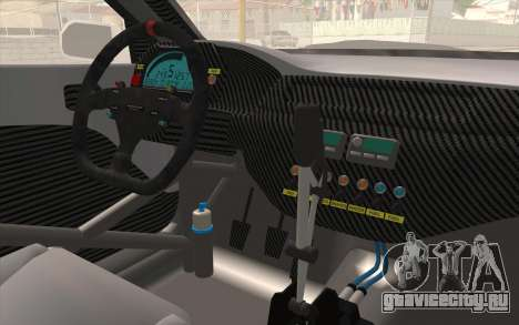 Mitsubishi Lancer Evolution IX для GTA San Andreas вид сзади