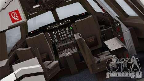 DC-10-30 Garuda Indonesia для GTA San Andreas вид сзади