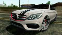 Mercedes-Benz C250 AMG Brabus Biturbo Edition для GTA San Andreas