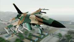 F-16C Fighting Falcon Aggressor 272 для GTA San Andreas