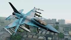 F-16C Fighting Falcon NSAWC Blue