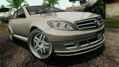 GTA 5 Benefactor Schafter IVF для GTA San Andreas