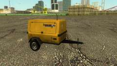 Multi Utility Trailer 3 in 1 для GTA San Andreas