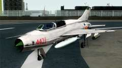 MIG-21UM Vietnam Air Force для GTA San Andreas