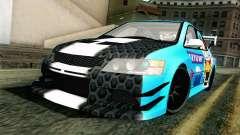 Mitsubishi Lancer Evolution IX седан для GTA San Andreas