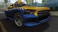 GTA 5 Bravado Buffalo S Downtown Cab Co.
